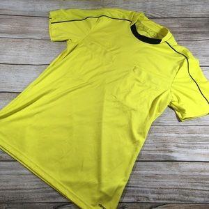 Adidas European Ref Climacool Jersey M Neon Yellow